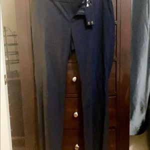 Banana republic navy slacks